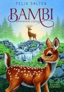 """Okładka książki pt.""""Bambi. Opowieść leśna"""""""