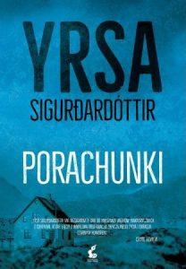 """Okładka książki """"Porachunki"""" Yrsa Sigurdardottir"""