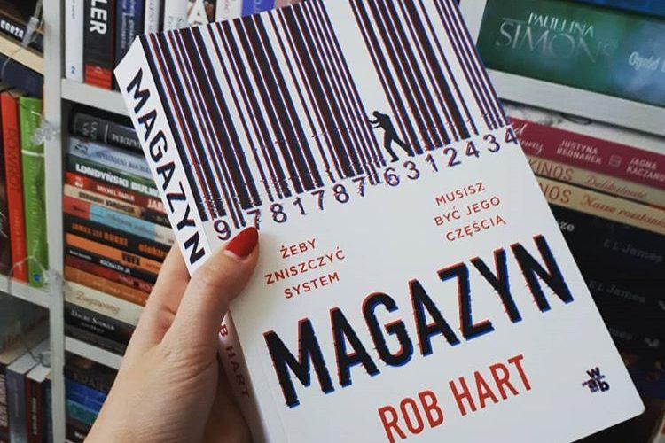 Okładka książki pt. Magazyn, autor Rob Hart