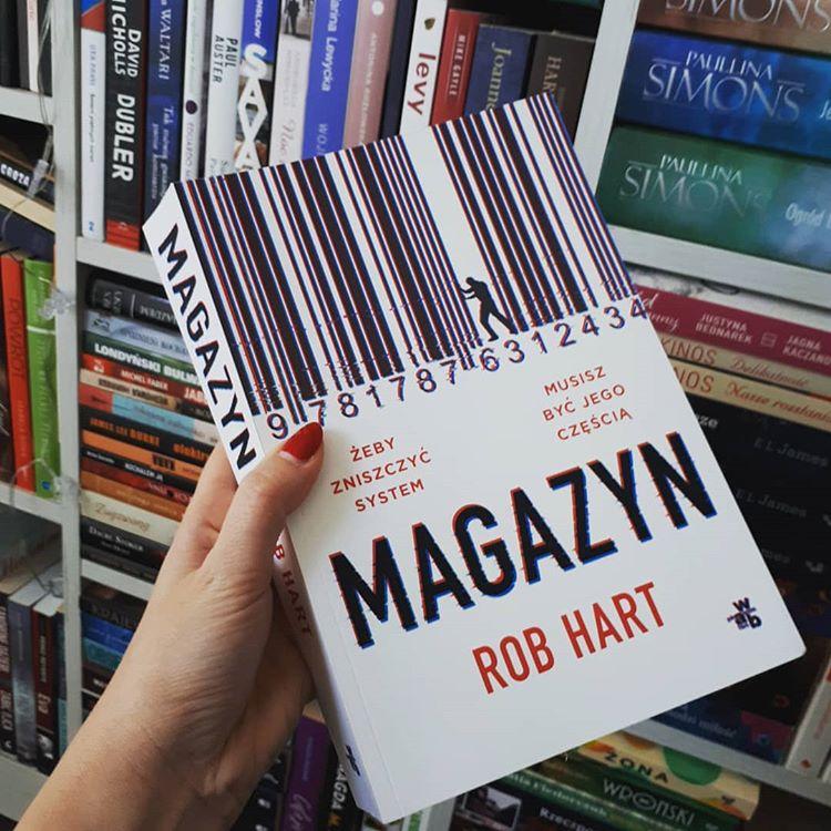 Okładka książki pt.Magazyn, autor Rob Hart